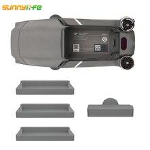 Sunnylife MAVIC PRO 2 silicona a prueba de polvo Puerto del cuerpo Protector de la cubierta de la batería de carga de la caja del puerto para DJI MAVIC 2 PRO ZOOM