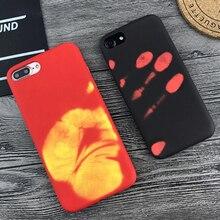 Чехол для телефона Xiaomi Redmi 8, 9, SE, 7, Mi8, Mi9, силиконовый защитный чехол с тепловым датчиком