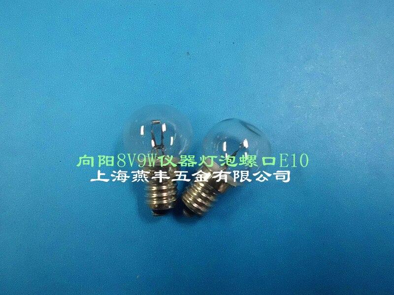 Xiangyang 8V9W instrumento bombilla tornillo E10