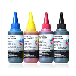 4X 100ml Refill Dye ink for HP10 HP82 HP 10 82 , suit for Designjet 10ps 20ps 500 510 800 815 820 inkjet printer