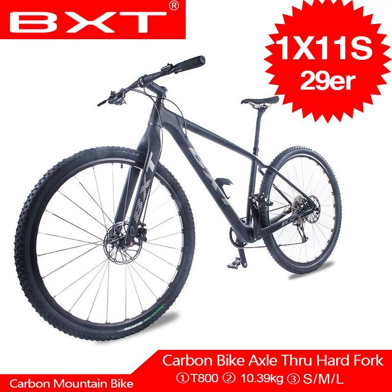 BXT Новый запуск горный велосипед 11 скоростной горный велосипед двойной дисковый тормозной велосипед 29er MTB велосипедные аксессуары Бесплатн...
