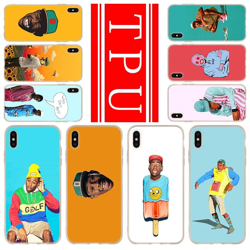 Teléfono para iPhone 11 Pro XR X XS X Max funda para iPhone 6S 6 7 8 Plus 4 4S 5 5S SE tyler the creator RAP tyler creator 2020