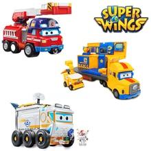 Super ailes espace Exploration scène magasin sauvetage véhicule camion de pompiers figurines daction déformation des enfants voiture jouets cadeau 2A03