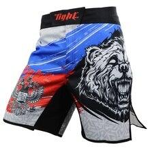 Short MMA homme malle de boxe short de combat homme mauvais pantalon de boxe Jiu Jitsu Tiger Muay pantalon thaï mince short dentraînement Muay Thai