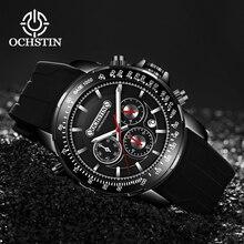 New Relogio Masculino OCHSTIN Quartz Watch Men Top Brand Luxury Leather Mens Watches Fashion Casual Sport Clock Men Wristwatches