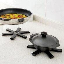 Vaisselle pliable de cuisine   Set de Table résistant à la chaleur, support de Pot chaud, Design Compact, Place dessous de plat, tapis de Table peu encombrant