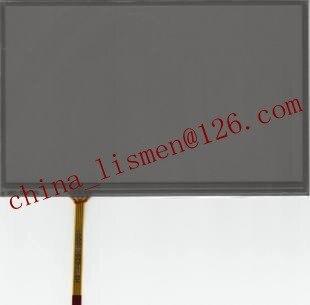 Panel digitalizador de 8 pulgadas de 4 pines de cristal negro para LTA080B040F LCD