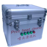 1PC Ultrasonic nozzle cleaning machine Ultrasonic Print head cleaner