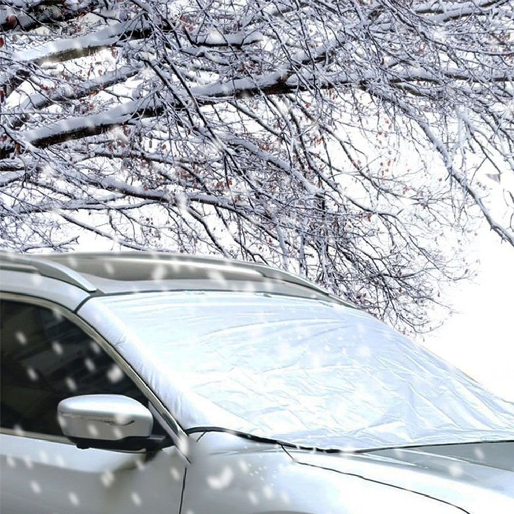 Hot Selling Winter Snow Ice Sun Shade Dust Frost Freezing Car Windshield Cover Protector Prevent Windshield Shield Windscreen