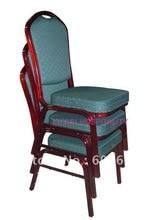hotselling Strong Stackable Aluminum banquet chair