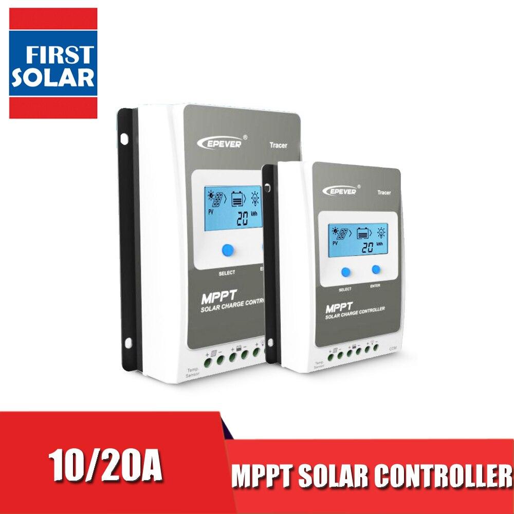 Tracer1206AN Tracer2206AN 10A 20A MPPT controlador de carga Solar control DE cargador de batería 1206AN 1210A 2206AN Tracer regulador