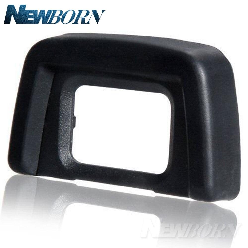 Caliente DK-24 negro copa para ojo de goma Viewfinde EyeCup ocular para NIKON D5100 D5200 D5300 D5500 D5000 D3100 D3200 D3300 dslr Cámara