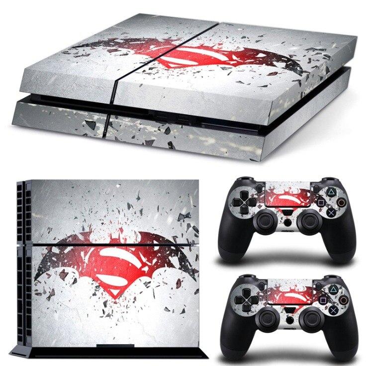 Autoadhesivo para juegos, pegatina de piel, calcomanías de cuerpo completo, envoltura de cubierta para controladores PS4 y pegatina de vinilo para consola