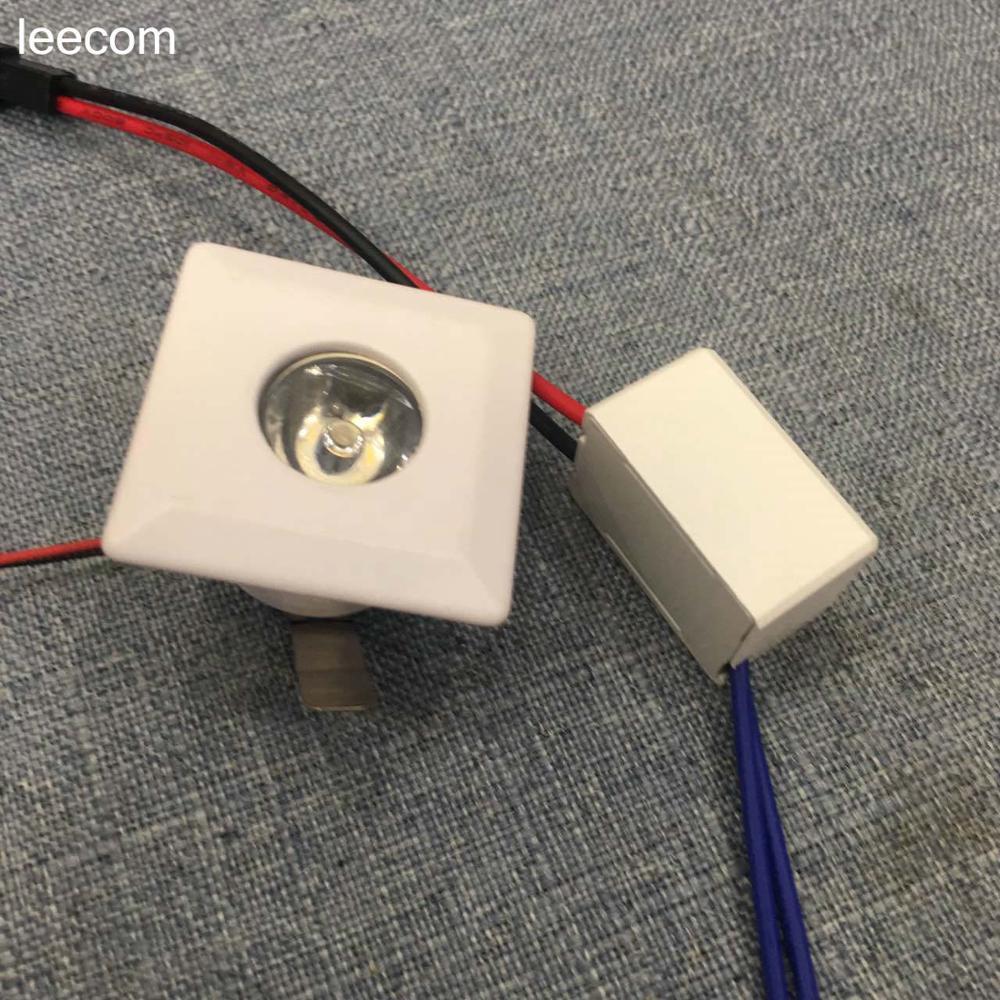 10pcs/lot diameter 39mm,cut size27mm Mini Led Downlight gold Round Ceiling Spot Lights Panel Light Recessed Aluminum Lamp Warm