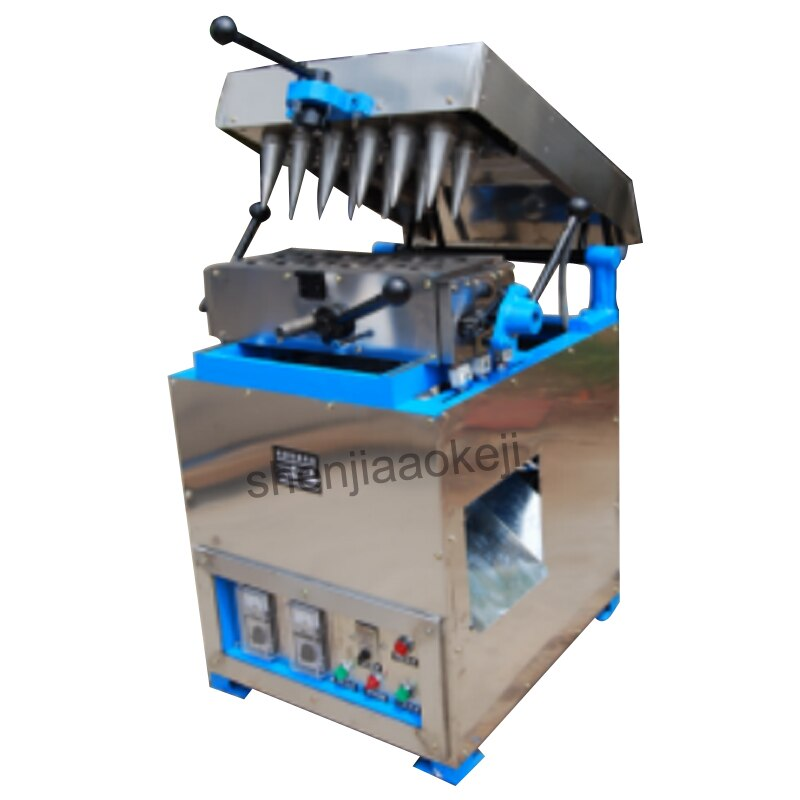 Ice Cream máquina de Rolo De Ovo ice cream cone maker Alta qualidade DST-12 Ice-cream cones máquina da bandeja do ovo máquina 220V 1PC
