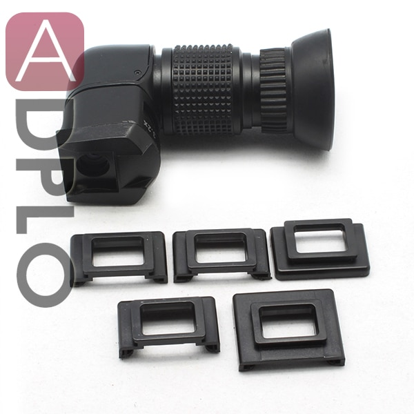 Pixco 1-3.2x-NIK/PK/FX Visor de ángulo recto adecuado para Canon/Nikon/Sony/Pentax/Fujifilm 1x-3.2x ángulo recto