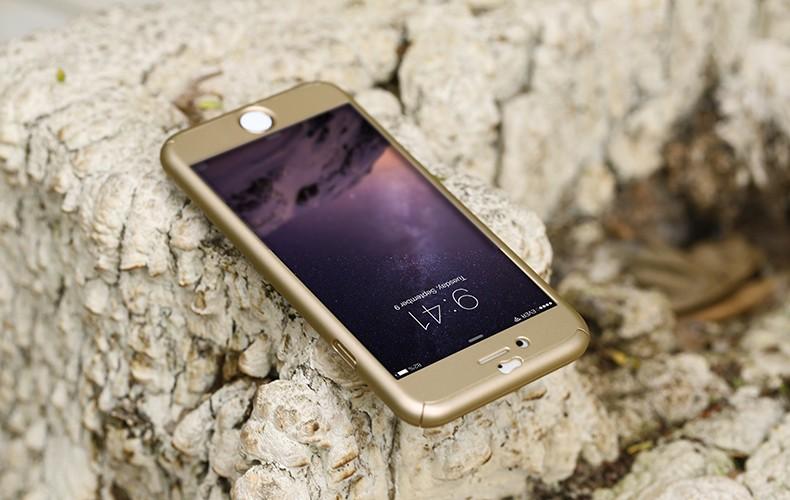 Floveme 6 s 7 plus armor screen protector 360 stopni case dla iphone 7 6 6 s dla iphone 6 6s 7 plus full chroń odporny na wstrząsy pokrywa 15