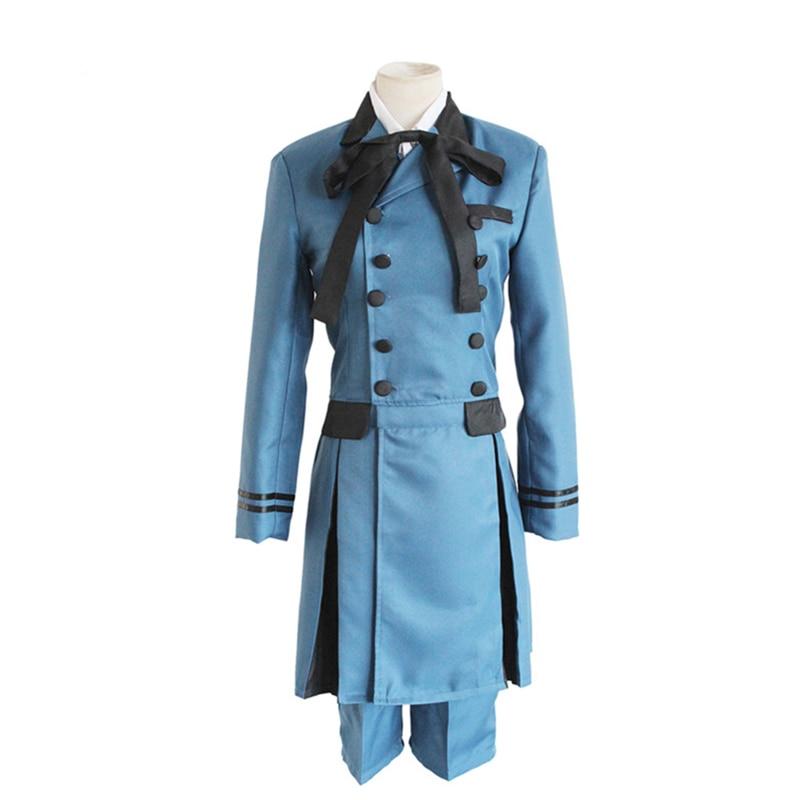 Cosplay de mayordomo negro kuroshitsuji Ciel Phantomhive, disfraz de emboincitación, disfraz de aristócrata Basti Kuroshitsuji