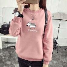 Большой размер плюс вельветовый M-3XL женский свитер женский осенний плотный милый мягкий теплый Повседневный пуловер с круглым вырезом