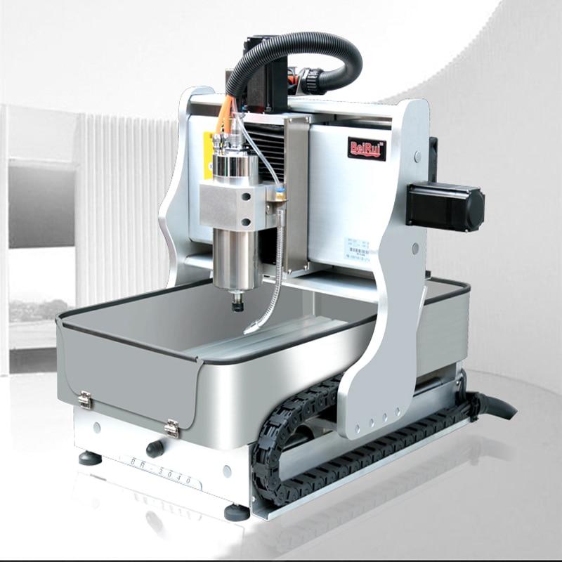 Сверлильный и фрезерный станок с ЧПУ 800 Вт, гравировальный станок для печатных плат, высокоточная обработка, деревообрабатывающие техничес...