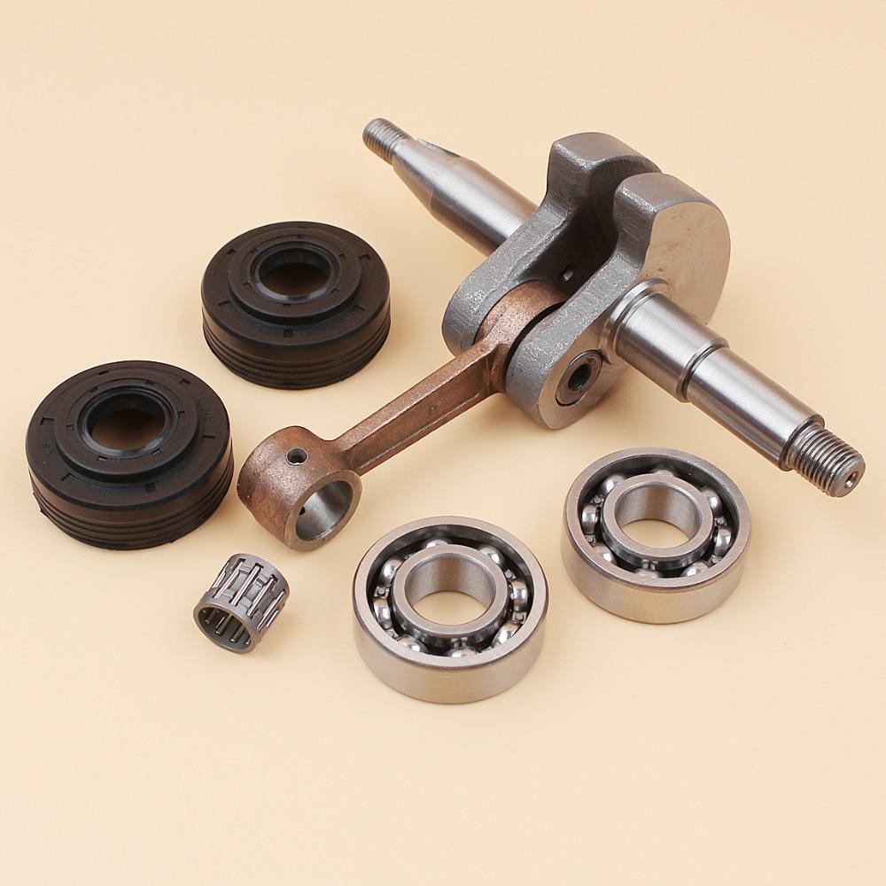 Crankshaft Crank Bearing Oil Seal Set Fit HUSQVARNA 340 345 350 JONSERED 2141 2145 2150 CS2141 CS2145 CS2150 Chainsaw Parts