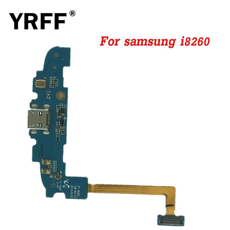 Fábrica precio micro-puerto de carga cable Flex para Samsung Galaxy gt I8262 i8260 USB Dock conector de cargador Flex piezas de repuesto