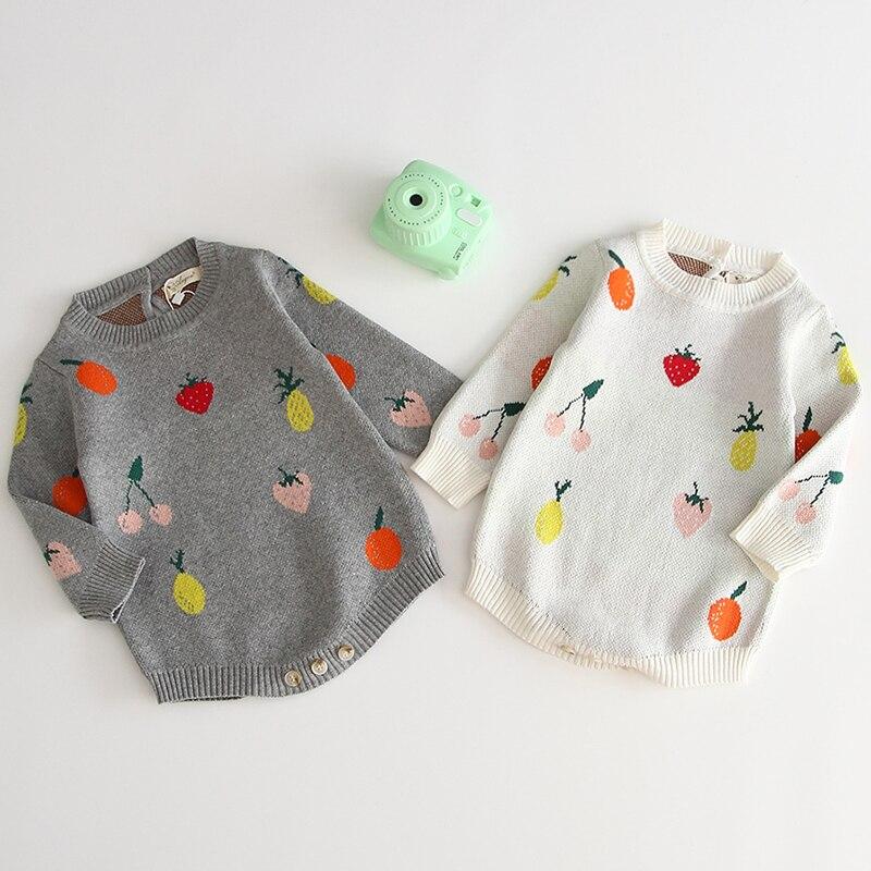 Mameluco de punto de bebé de algodón de colores pompón de lana bebé niña mameluco ropa de bebé recién nacido con volantes bebé niños mono overol