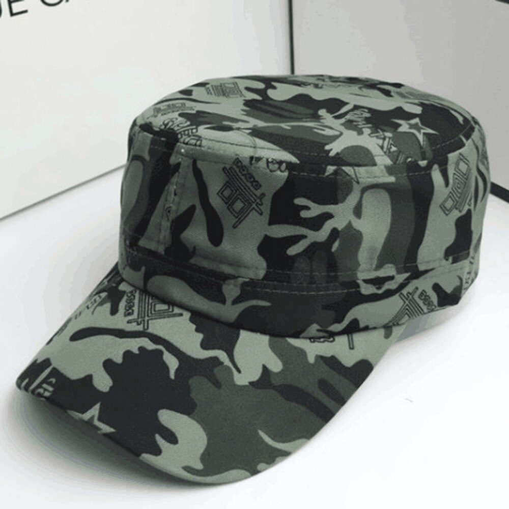Dance Hat Cap military hat Men Women Camouflage Outdoor Climbing Baseball Cap Hip Hop czapka