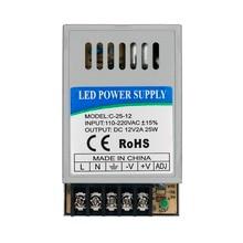 24 W LED سائق DC12V 2A DC24V 1A ل المصابيح امدادات الطاقة ثابت الحالي تحكم في الجهد ضوء المحولات ل LED قطاع و DIY