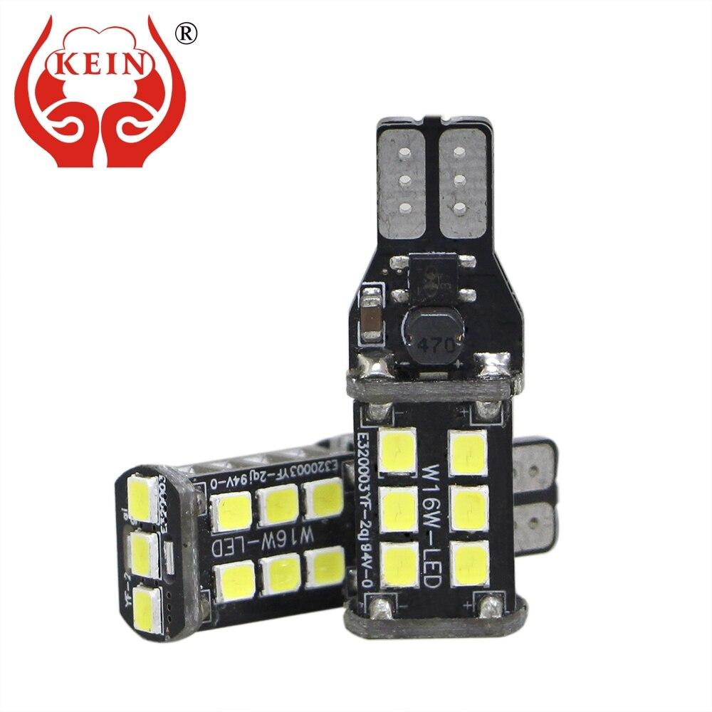 KEIN 2PCS w16w led t15 Canbus Error Free 2835 920 921 912 Reverse Light Parking Signal Lamp 15smd indicator Backup Brake Bulb