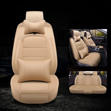 Kalaisike-housses de sièges dauto Luxgen 5   En cuir, universelles, tous les modèles Luxgen 5 7SUV 6SUV U5 SUV, accessoires de voiture, style automobile