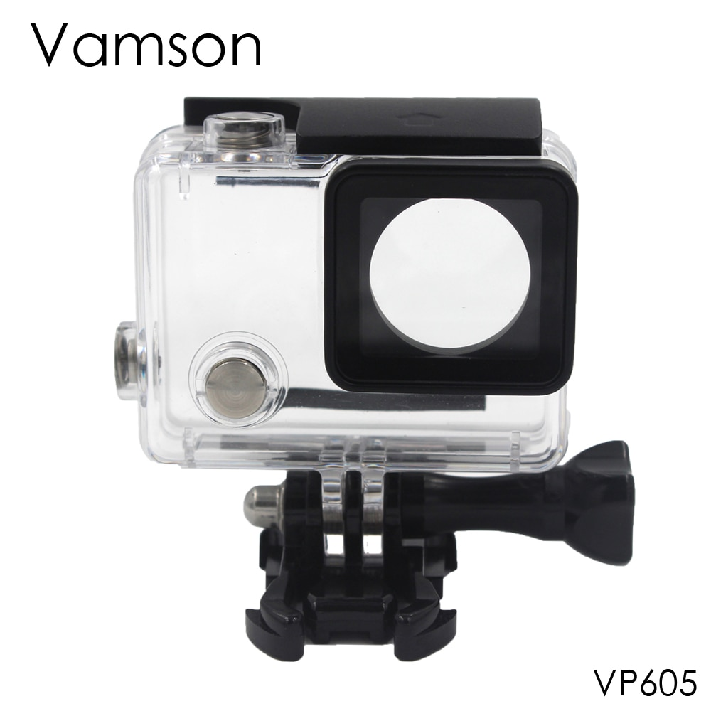 Водонепроницаемый корпус Vamson для GoPro Hero 4, Сменный Чехол для Go Pro Hero 3 + plus