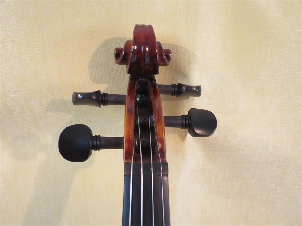 Cool model SONG Brand brown Crazy-4 Top art 4/4 electric violin enlarge