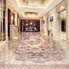 Beibehang ديكور المنزل كونتيننتال جراند رخامي أرضية باركيه ثلاثية الأبعاد مخصص صور ذاتية اللصق ثلاثية الأبعاد الكلمة البلاستيكية أرضية مضادة للماء