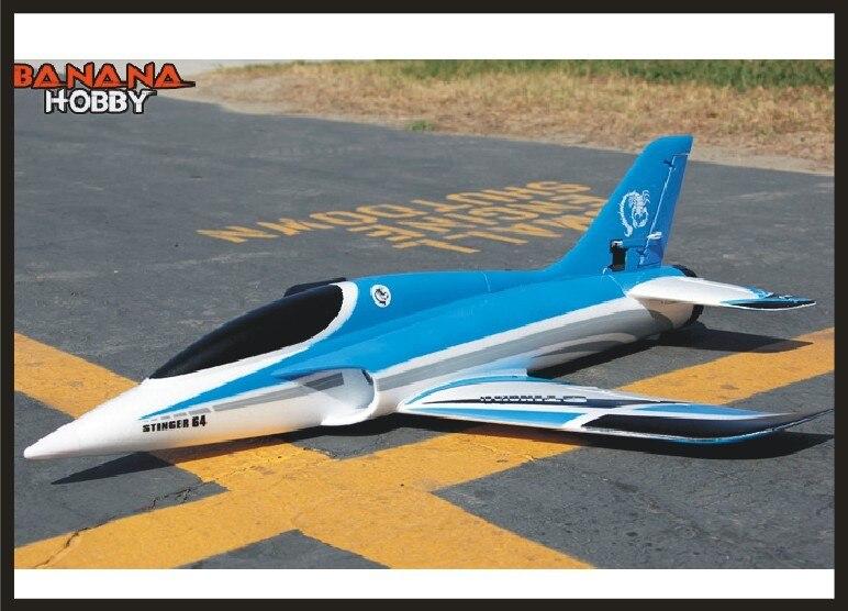 EPO самолёт/радиоуправляемая модель для хобби, игрушка winspan, 700 мм, Радиоуправляемый самолёт 64 мм, EDF Stinger, спортивный самокат (набор или набор PNP...