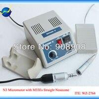 100-120V/200-240V Straight Nosecone Head M33Es E-Type Motor SHIYANG-III Mini Micromotor 35000 RPM