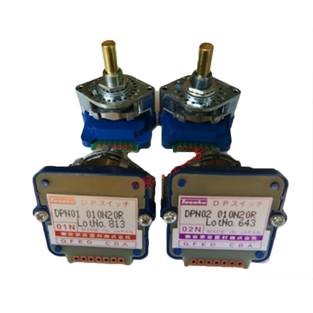 TOSOKU serie DP código Digital interruptor binario DPN-01N DPN-02N DPN-01J DPN-02J DPN-03J DPN-01L DPN-02L CNC máquina de banda de interruptor