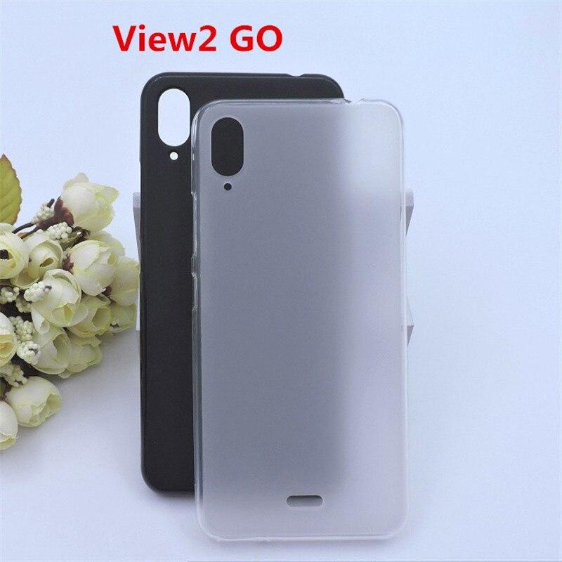 Роскошный мягкий силиконовый чехол для телефона, чехол для Wiko View 2 GO, чехлы на заднюю крышку Wiko View 2 GO, чехол, чехлы, чехол