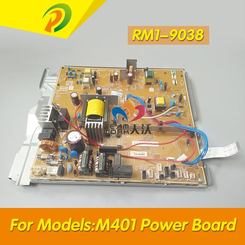 Power Supply Board Para LASERJET PRO400 M401 M401D 401DN 401N 401DNE 401DW RM1-9038 RM1-9037 Power Board Painel À Venda