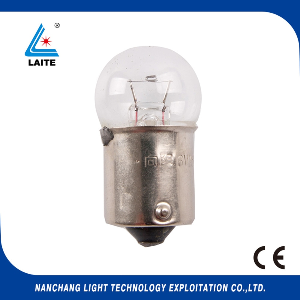 Hosobuchi OP2112 6v 15w BA15S lámpara de microscopio, 6v15w oftalmoscopio OM1 topcon bombilla de proyector sin shipping-10pcs