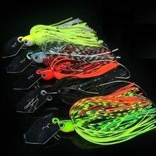 WATERBOY 7cm 10g silicone queue Chatterbait vibrant oscillant pêche gabarit leurre