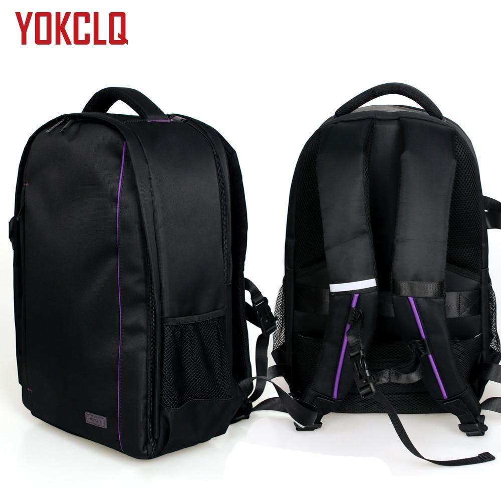 YOKCLQ Y3 профессиональная DSLR Холщовая Сумка для камеры дорожная сумка для фото один рюкзак для Sony Canon Nikon Olympus