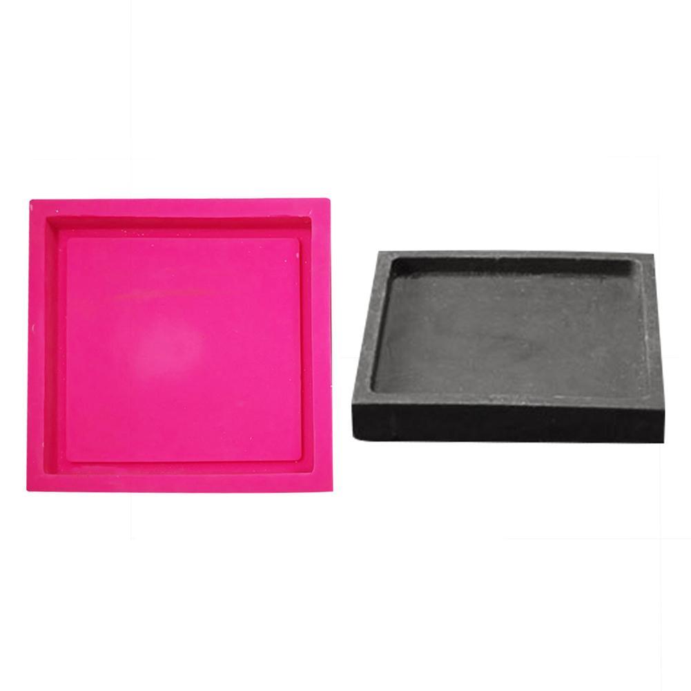 Geometryczny wzór betonu podstawki formy uchwyt na kubek herbaty formy cementowe Coaster taca formy do tynk gips bazy gliny formy