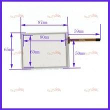 ZhiYuSun  wholesale for Trimble TSC2  Digitizer Touch Screen Repair Parts comptable 3.8inch  87mm*65mm 5PCS/lot