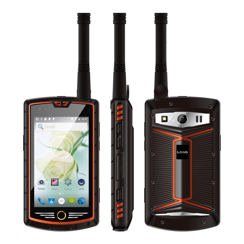 China Kcosit W305 analógico DMR Digital Dual modo Walkie Talkie teléfono UHF IP68 a prueba de agua Android 5,1 Smartphone robusto 4G 5000mAH