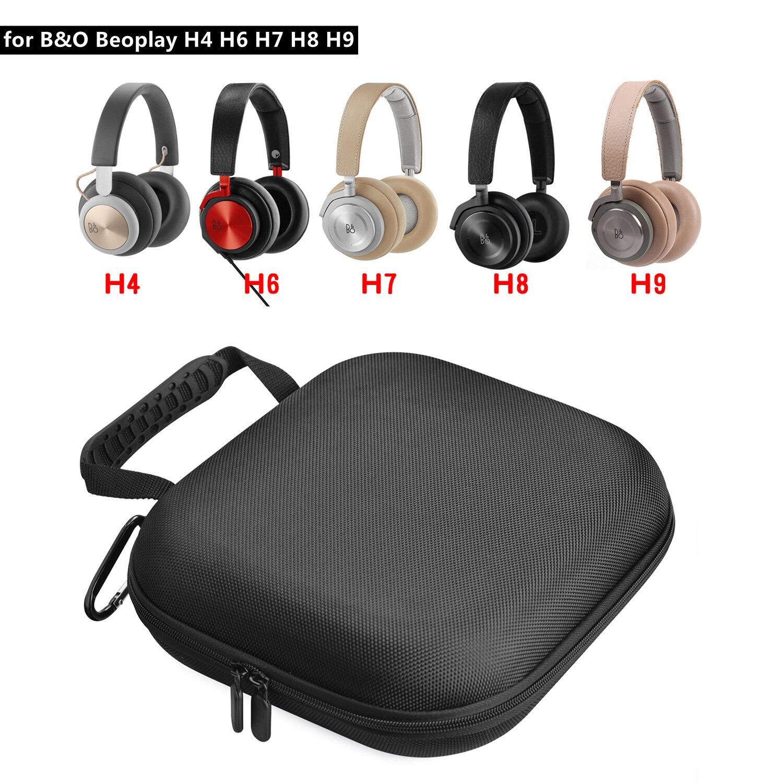 Caso de auriculares para el B & O PLAY Bang & Olufsen inalámbricos Beoplay h 8 DE H9 H6 H8 H2 H7 H4 estudio Almacenamiento de auriculares caja bolsa de la bolsa