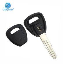 Honda Key Shell 트랜스 폰더 용 OkeyTech No 칩 포함 Uncut Blank Blade Honda Accord Insight 용 자동 자동차 키 커버 케이스 Fob
