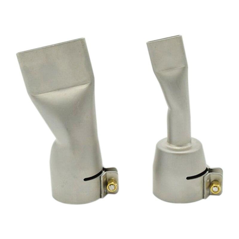 ELEG-2Pcs Welding Nozzles For Leister / Bak Hot Air Heat ,20Mm And 40Mm Flat Weld Nozzle
