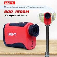 Гольф телескоп лазерный дальномер портативный 7X оптический зум телескоп лазерный дальномер UNI-T LM600 LM800 LM1000 LM1200 LM1500