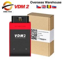 Инструмент Диагностический UCANDAS VDM 2 VDM2 V5.2 OBD2, аналогичный функции Easydiag xтюнера E3 с поддержкой Wi Fi, Android, бесплатная доставка